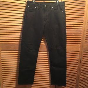 Levi's Black 504 Jeans